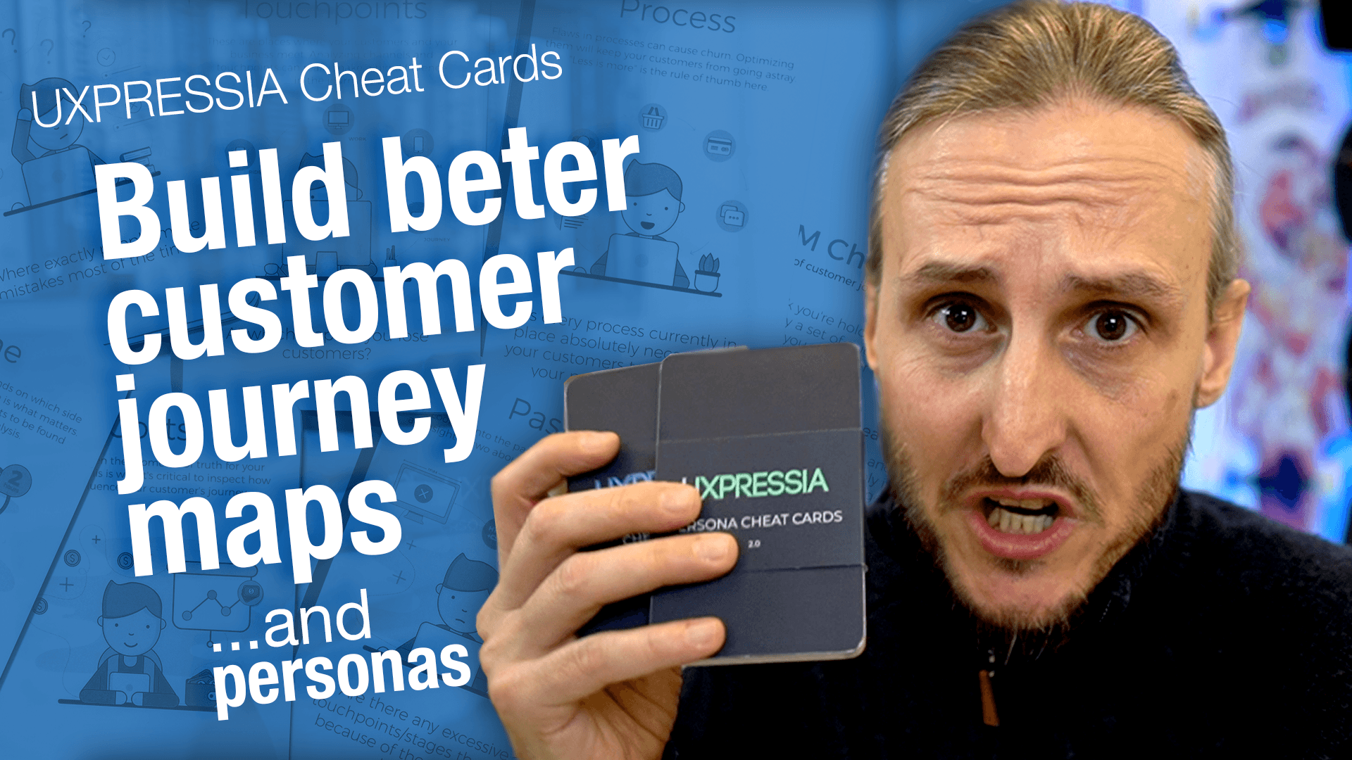 Customer Journey Maps and Personas – get the job done with these UXPressia Cheat Cards