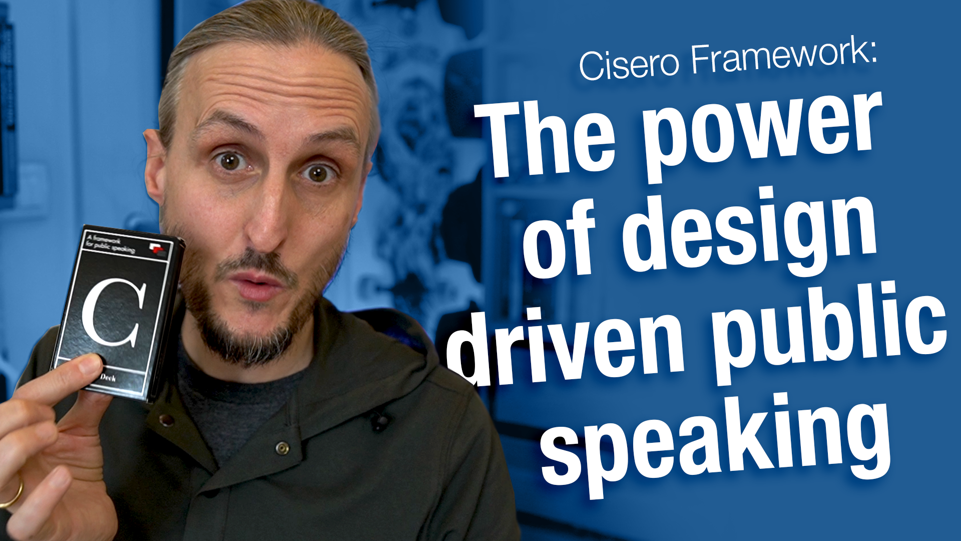 Cisero Framework and the Power of Design-Driven Public Speaking