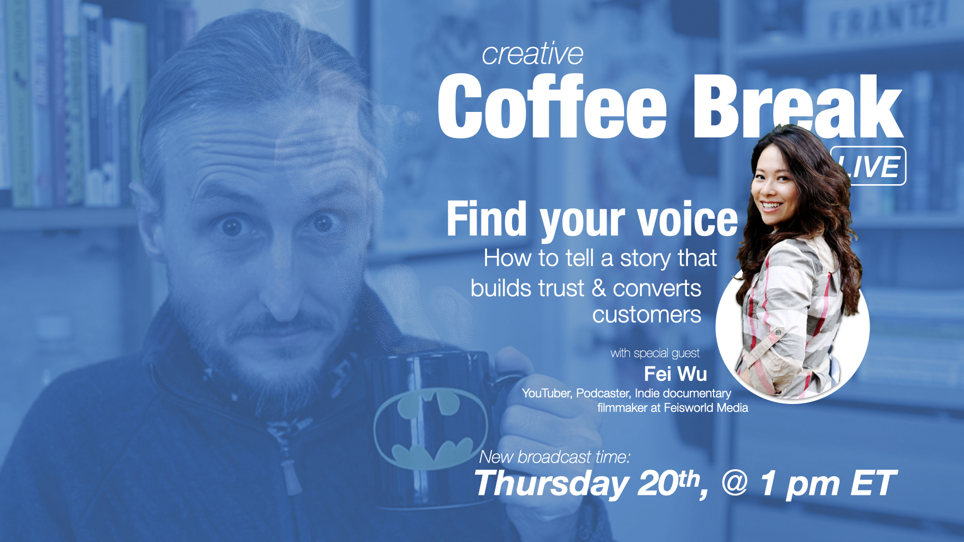 Find your voice: How to Tell a Story that Builds Trust and Converts Customers