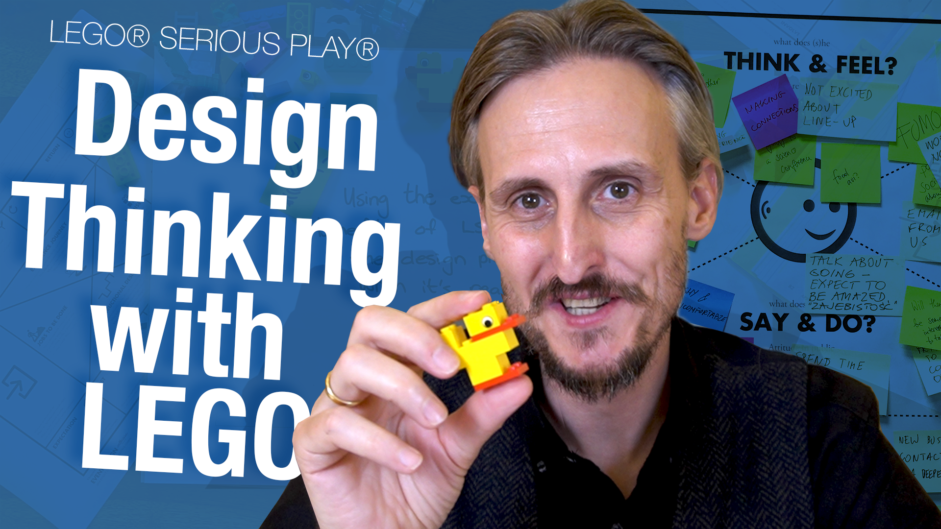 Using the experiential benefits of LEGO® SERIOUS PLAY® to slow the Design Thinking process