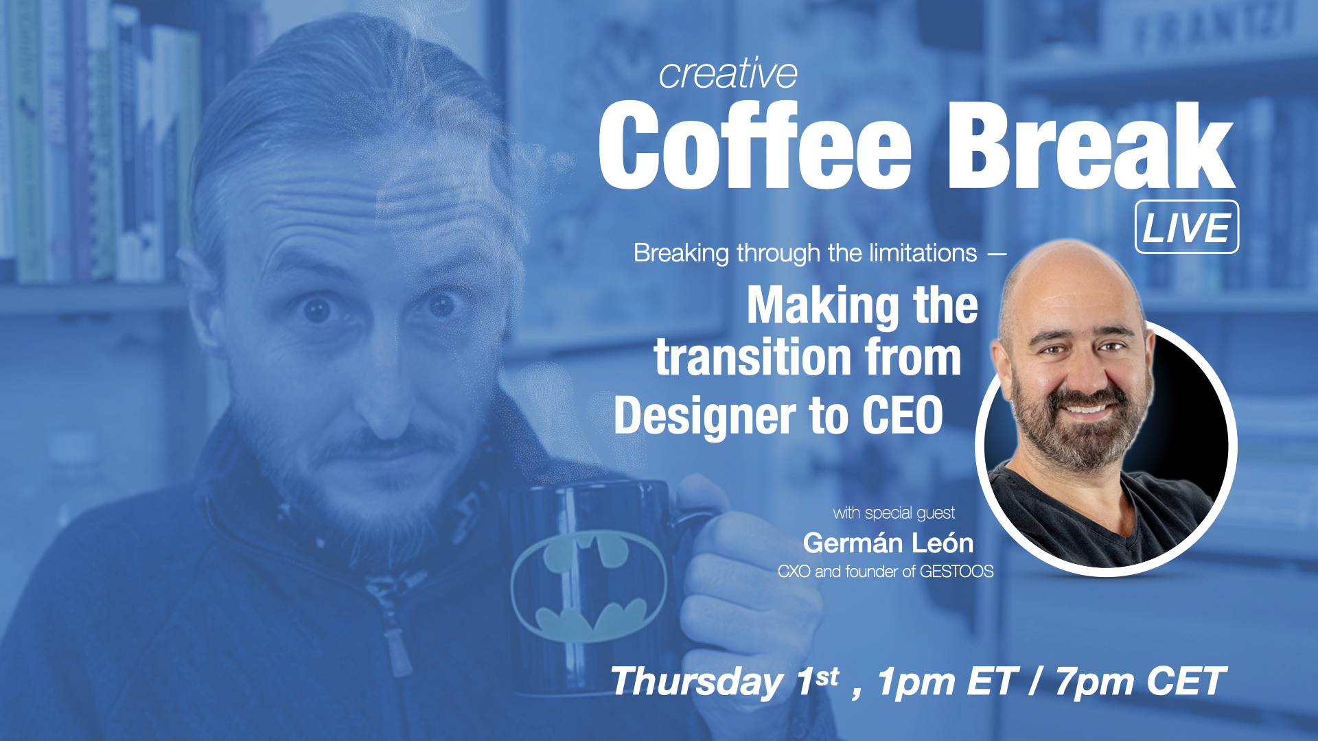 Breaking through – Making the transition from Designer to CEO