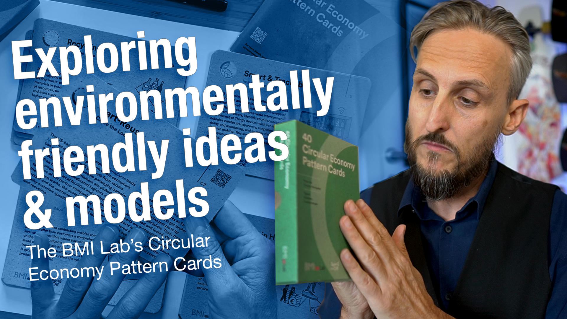 The Circular Economy Pattern Cards: Exploring models & ideas friendly to our Environment